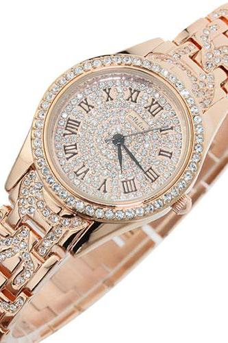 Unique Bling Rhinestone Quartz Watch