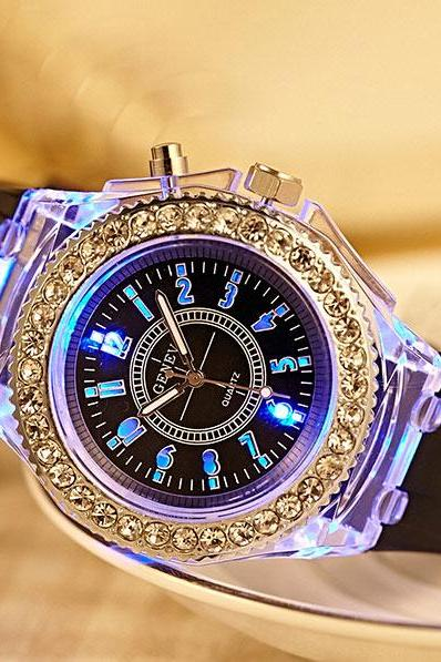 Luminous Colored Lights Watches