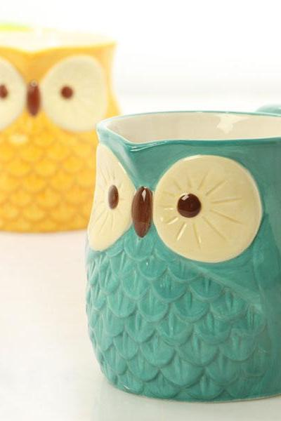 Owl Gift/Mug Cup/Ceramic Cup