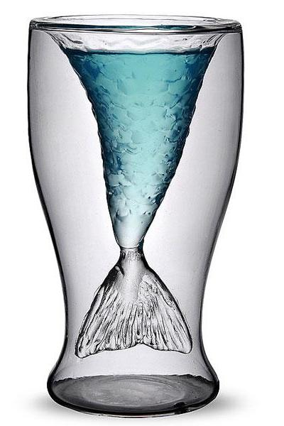 Mermaid Glass Cup