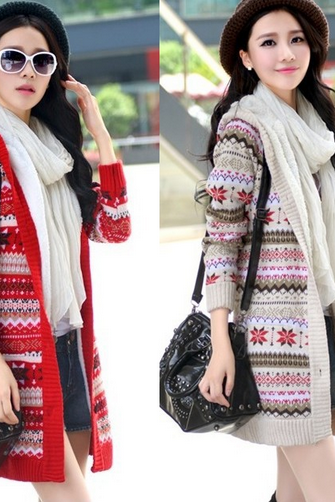 Autumn and winter with thickened hooded sweater cashmere self-cultivation