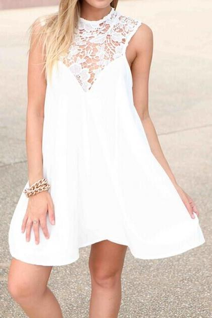 Fashion Lace Dress #082203EU