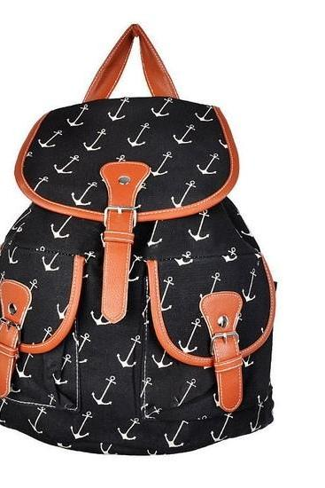 FREE SHIPPING 2014 KPOP Women's Bookbag TRAVEL NEW Rucksack School Bag Satchel Canvas Backpack