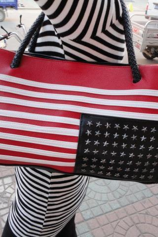 Nice USA Flag Handbag