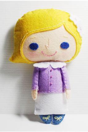Alice girl - PDF Doll Pattern