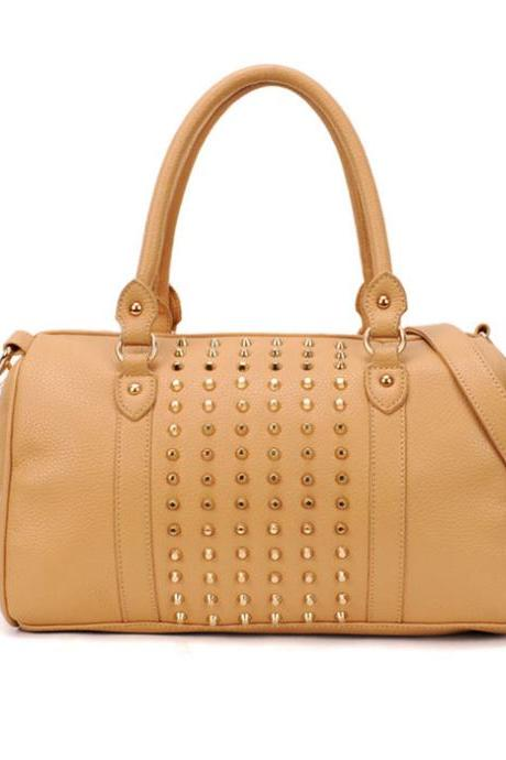 Fashion Rivet Bucket Handbag