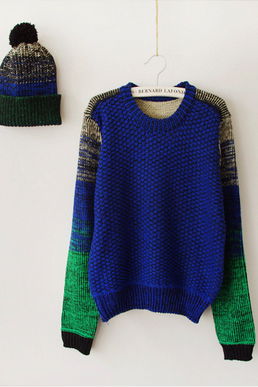 Women's New Sweater Knit Shirt