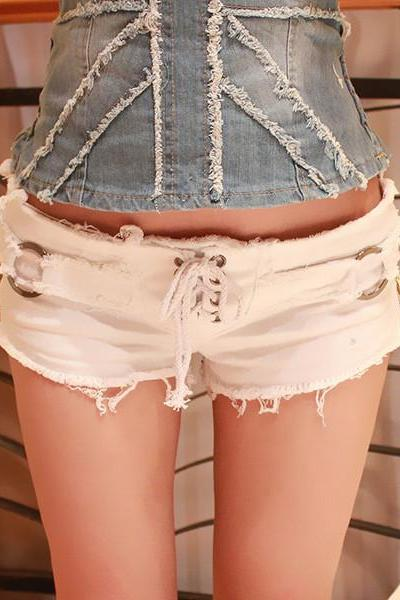 Sexy Jeans Shorts With DS 010