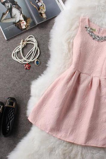 Sweet sleeveless princess dress SF120503JL