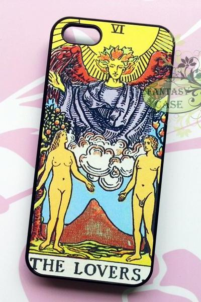 The Lovers Tarot Card, iPhone 6+ plus Case, iPhone 6s+ plus Case, iPhone 6 Case, iPhone 6s Case, iPhone 5 Case, iPhone 5s Case, iPhone 4, iPhone 4s Case, iPhone 5C, Galaxy S6, Galaxy S6 Edge, Note 3, Note 4, Note 5, Phone Cases