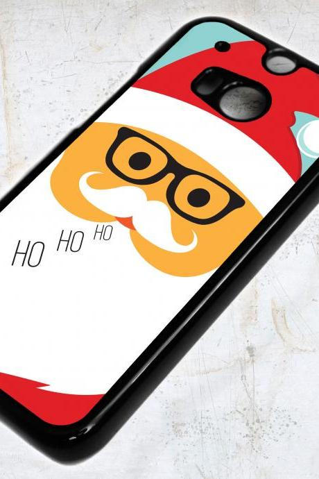 HTC One M8 Christmas Santa Claus Case