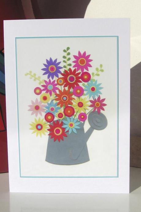 Greeting Card - In A Spring Garden