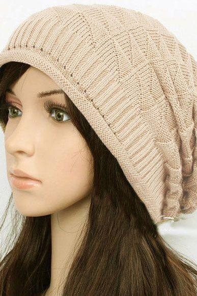 Winter casual hip hop wool cotton unisex hat