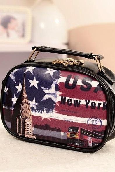 New York city messenger girl handbag
