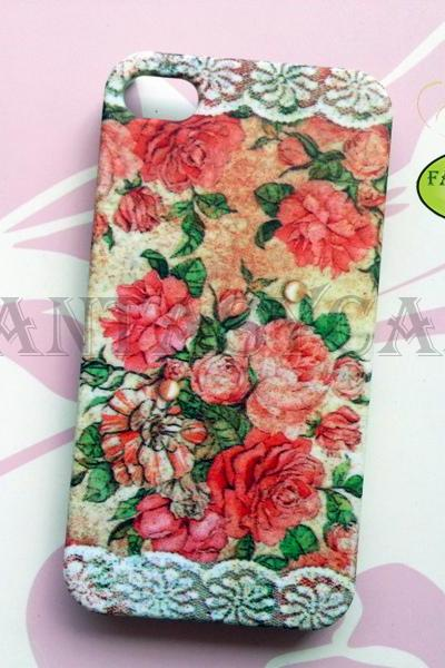 Rose with Lace - iPhone 6, iPhone 6 Plus, iPhone 5, iPhone 5s, iPhone 4/4s case, Galaxy S4, Phone Cover