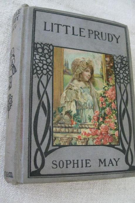 Little Prudy by Sophie May Vintage Book