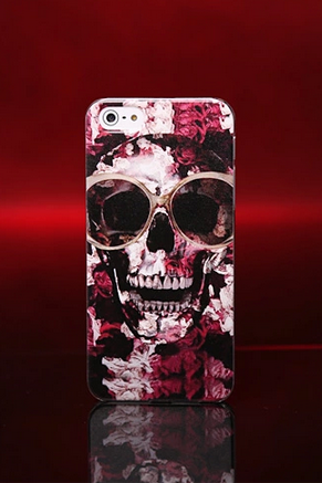 Iphone6 mobile phone shell Apple 5S Apple 4S painted shell personality Skull