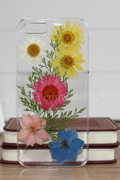 Real Flower iphone 6 case Pressed Flower iphone 6 plus case iphone 5s case iphone 5 case iphone 5c case iphone 4s 4 case