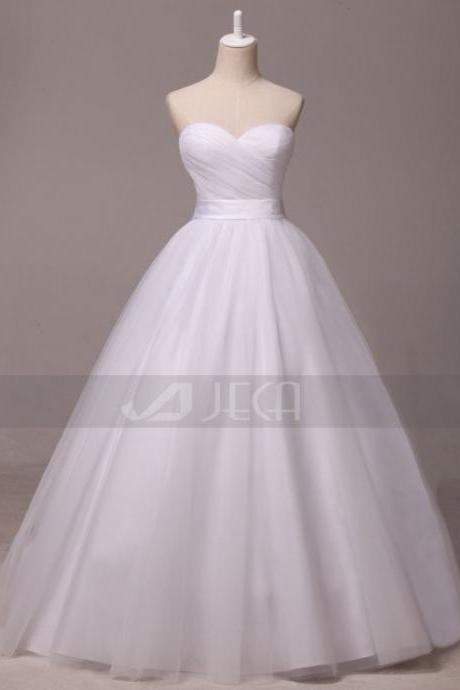 Simple Princess Deb Dress Wedding Dress