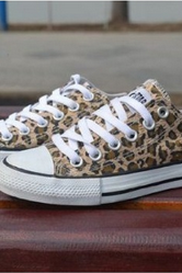 Leopard Canvas Shoes