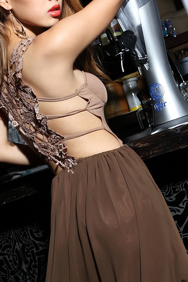 Long Section Of Lace Halter Straps Chiffon Dress