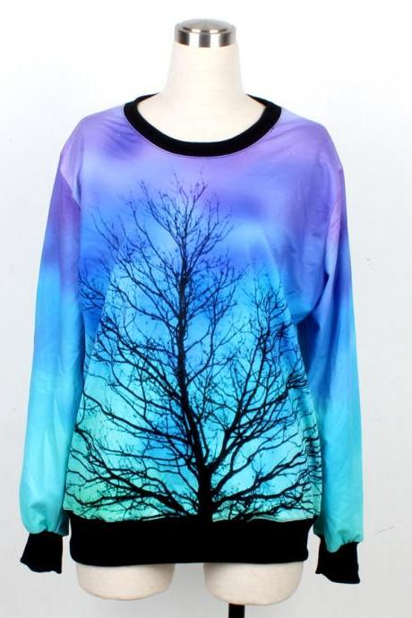 Women Mens 3D T-Shirt Sweater Sweatshirt Hoodie Pullover Tops--1007