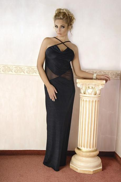 sexy lingerie nightwear Elegant Black Long Dress big plus queen size 2x 3x 4x x L XL 2XL 3XL 4xl xxxl xxxxl eu 42 - 56 uk 10 - 24