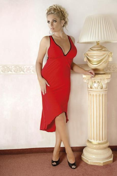 sexy lingerie nightwear Elegant red Dress big plus queen size 2x 3x 4x x L XL 2XL 3XL 4xl xxxl xxxxl eu 42 - 56 uk 10 - 24