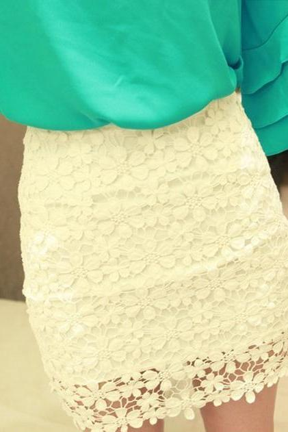Cute Lace Skirt