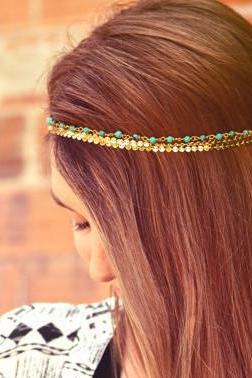 Bohemian handcraft hair band