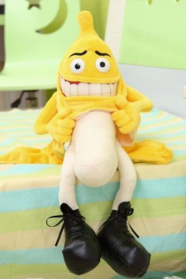 Plush toys large banana doll doll birthday gift