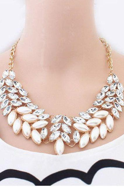 Luxury jewelry evening dress woman necklace