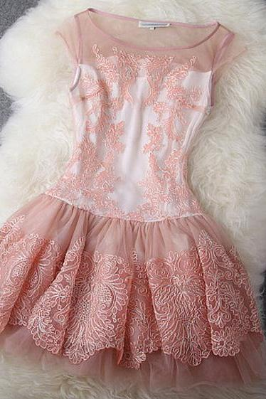 SWEET AND CUTE EMBROIDERED DRESS DRESS $99.00