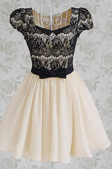 LACE RHINESTONE CULTIVATE ONE'S MORALITY DRESS