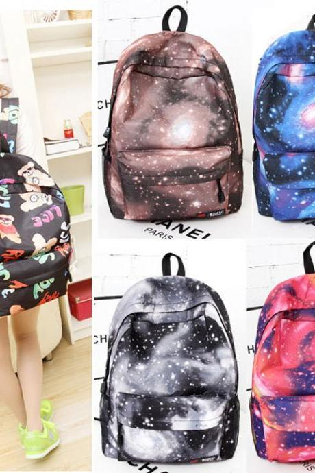 Fashion Cute Korean Style women Girls backpack Student School Travel Bookbag Bag