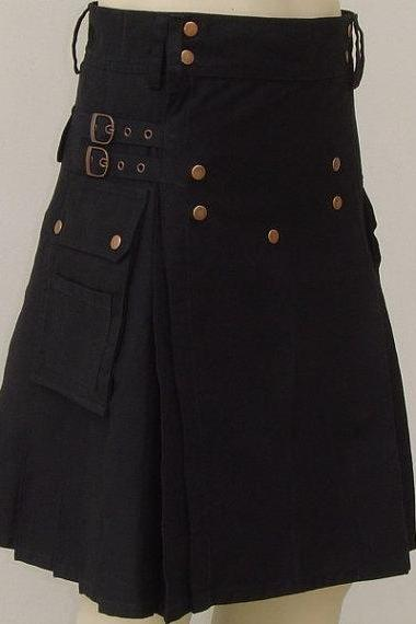 Scottish Outfit 'UTILITY Modern KiLT' ALL SIZE' 70% off