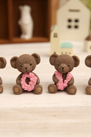 LOVE bear ornaments, a special gift lovers gift surprise