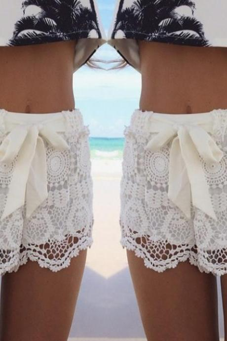 Fashion Lace Shorts AX02ax