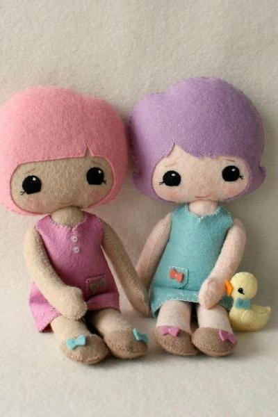 Best Friends Doll pdf Pattern