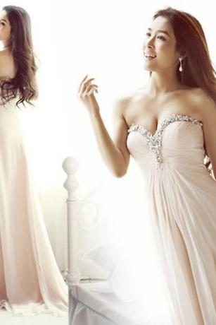 leeveless Sweetheart Floor Length Satin Party Dress Homecoming Prom Dress Formal Evening Dress