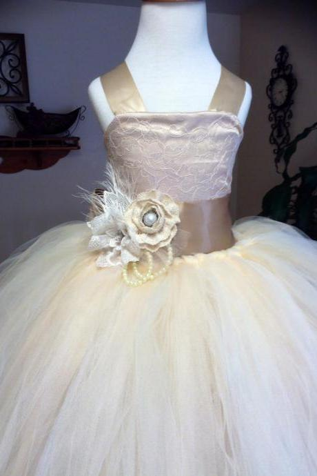 Ball Gown Cute flower girl dress,Sleeveless flower girl dress,flower girl dress with lace,Flower Girl Dress, girl dress,birthday party dress.