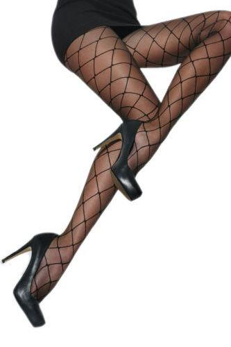 Ladies Patterned Tights 20-40 DEN Hosiery Black S - XL SIZE 2 3 4 5XL high quality !!!