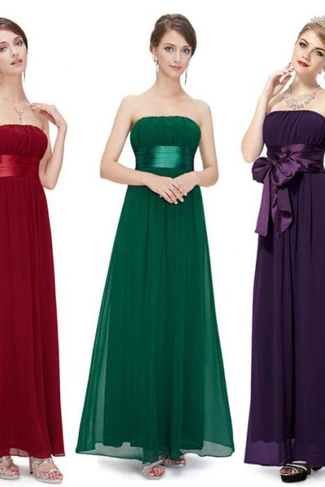 Sexy Women Sleeveless Prom Ball Cocktail Evening Party Long Dress Formal Gown