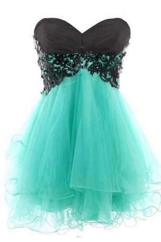 Short Tulle Prom/Cocktail Dress