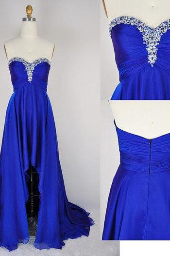 Long Chiffon Prom Dress,Evening Dresses