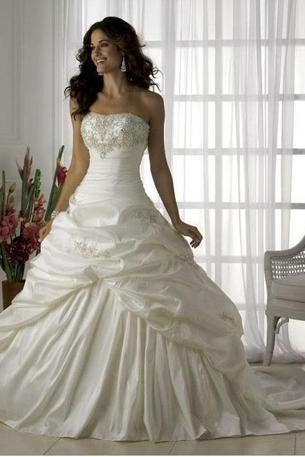 New White/Ivory wedding dress bridal dresses evening/prom /Ball Gown dress