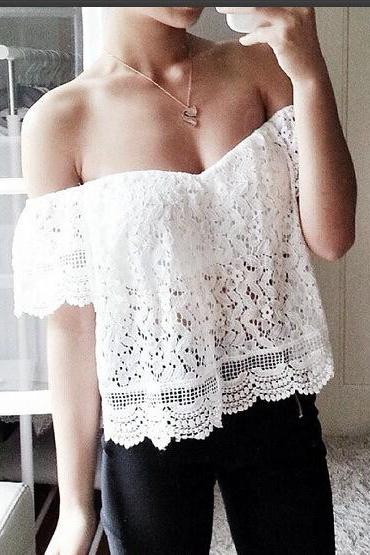 Fashion Lace Blouse X0I9GBD9Y7RC57XUA4G64