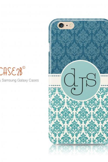 Damask Monogram Chevron iPhone 6 Plus iPhone 6 iPhone 5s iPhone 5c iPhone 4s Samsung Galaxy s5 Samsung Galaxy s4 case