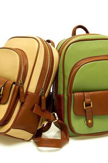 Retro College Style Backpacks