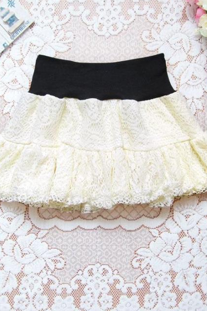 Bud silk skirt